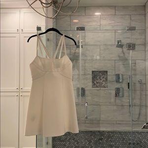 White BCBG Cocktail Dress